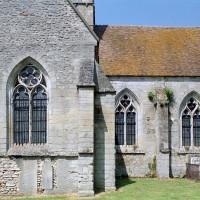 La chapelle sud et le choeur vus du sud (2001)