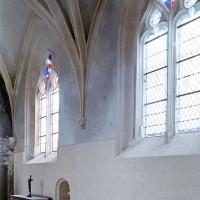 Le mur nord du choeur vu vers le nord-ouest (2001)