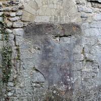 Porte romane du mur sud de la nef (2001)