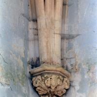 Retombée de la voûte dans la chapelle sud (2001)