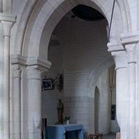 L'arcade de la chapelle sud vue vers le nord-ouest (2001)