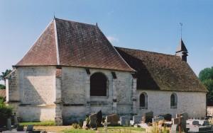 L'église vue du nord-est (2002)
