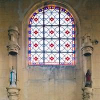 Vue partielle du mur nord du choeur (2002)