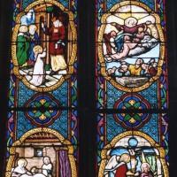 Vitrail de la Vie de la Vierge  (2003)