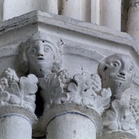 Chapiteaux du bras nord du transept (2001)