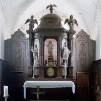 L'autel-retable et les boiseries du choeur (2002)
