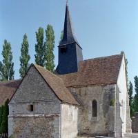 Vue partielle de l'église depuis le sud-est (2001)