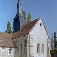 Le choeur et le chapelle sud vus du sud-est (2001)