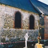 Vue partielle du choeur et de la nef depuis le nord-est (2004)