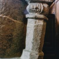 Détail de la cuve baptismale (2004)