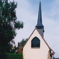 L'église vue de l'est (2002)