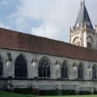 L'église vue du nord-est (2008)