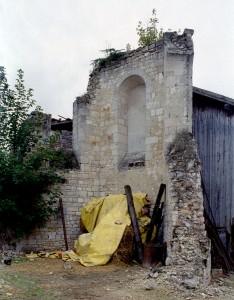 Les ruines du choeur vues vers le nord-est (2008)