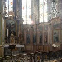 Les boiseries de la chapelle axiale ou chapelle de la Vierge (2016)