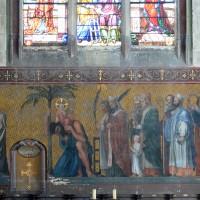 Fresque de la chapelle sud du choeur (2016)