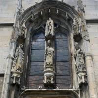 Vue partielle du portail du bras sud du transept (2016)