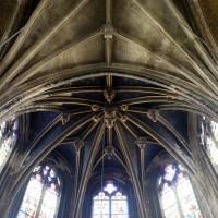 La voûte de la chapelle axiale (2016)