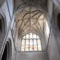 Les voûtes du bras sud du transept (2016)