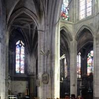 Vue partielle du déambulatoire et de l'abside vers le sud-est (2016)