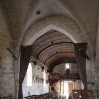 La croisée et la nef vus vers le sud-ouest (2016)