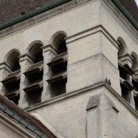 L'étage du beffroi du clocher vu du sud-ouest (2019)