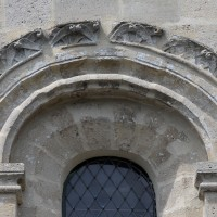 Détails de la fenêtre du bras sud du transept (2019)