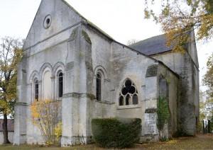 L'église vue du nord-est (2018)