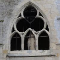 Fenêtre de la chapelle nord (2018)