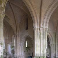 Vue partielle du transept et du choeur vers le sud-est (2018)