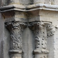 Chapiteaux du portail ouest (2015)