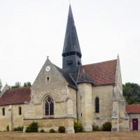 L'église vue du sud (2015)