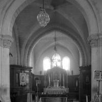 La croisée du transept et le choeur vus vers l'est (1997)