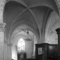 Le transept vu vers le nord (1997)