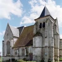 L'église vue du nord-ouest (2008)