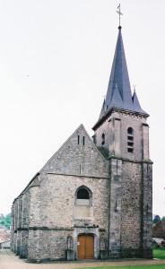 La façade vue du nord-ouest (2001)