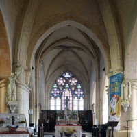 Vue partielle de la croisée du transept vers l'est (2016)