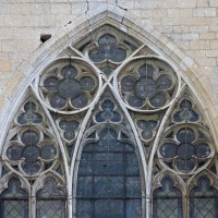 La partie supérieure de la fenêtre du chevet (2016)