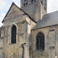 Le bras nord du transept vu du nord-ouest (2015)