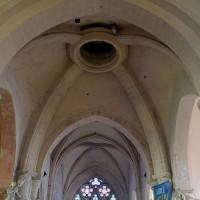 La voûte de la croisée du transept vue vers l'est (2016)