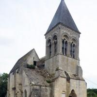 L'église vue du nord-ouest (2015)