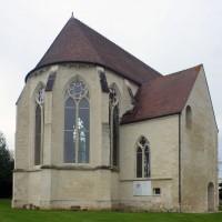 L'abside et la chapelle nord vues du nord-est (2016)