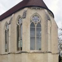 Vue partielle de la chapelle depuis le sud-est (2016)