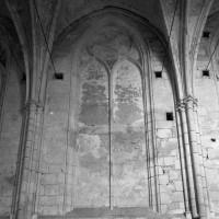 Fenêtre du mur gouttereau nord de la nef (1993)