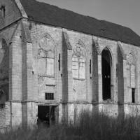 La chapelle vue du sud-ouest (1993)