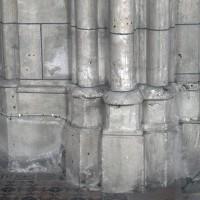 Bases de la chapelle nord du choeur (2017)