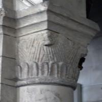 Chapiteau de la troisième arcade du mur nord de la nef (2017)