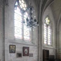 Le mur gouttereau nord de la chapelle nord du choeur (2017)