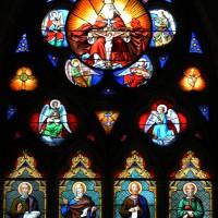 Vitrail de la fenêtre ouest de la nef (2017)