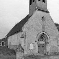 L'église vue du nord-ouest (1979)