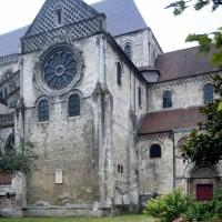 Le bras nord du transept vu depuis le nord-ouest (2015)